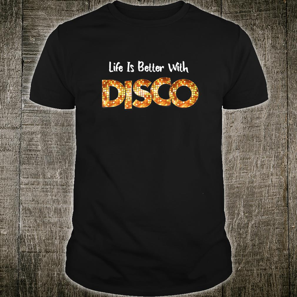 70's 80s Disco Dancing Party Vintage Retro Old School Outfit Shirt
