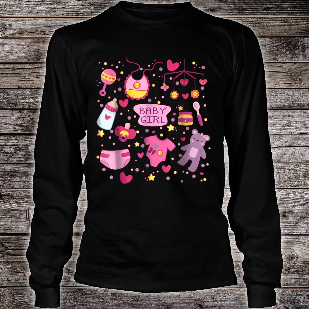 ABDL Adult Baby Diaper BABY GIRL Collection Shirt long sleeved