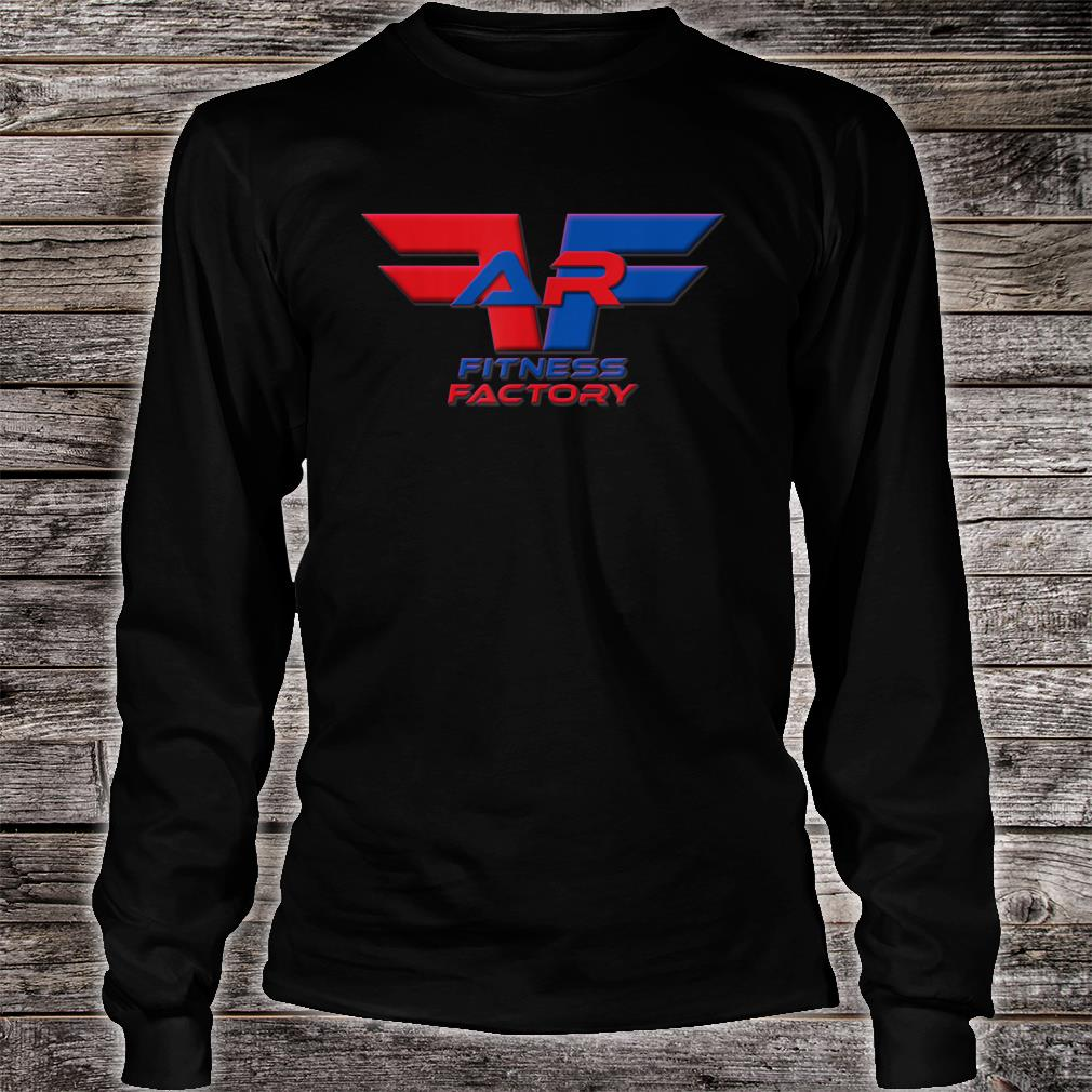 AR Fitness Factory Wings Shirt long sleeved