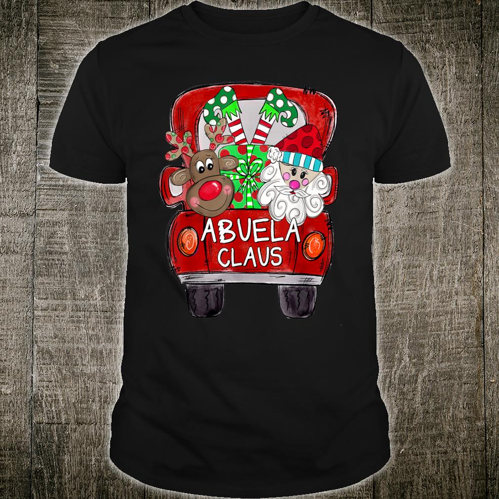Abuela Claus Christmas Shirt