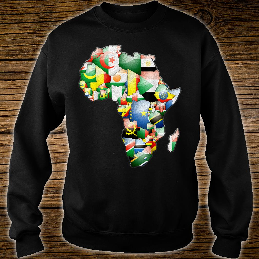 African Flags Black History Month African Heritage Shirt sweater