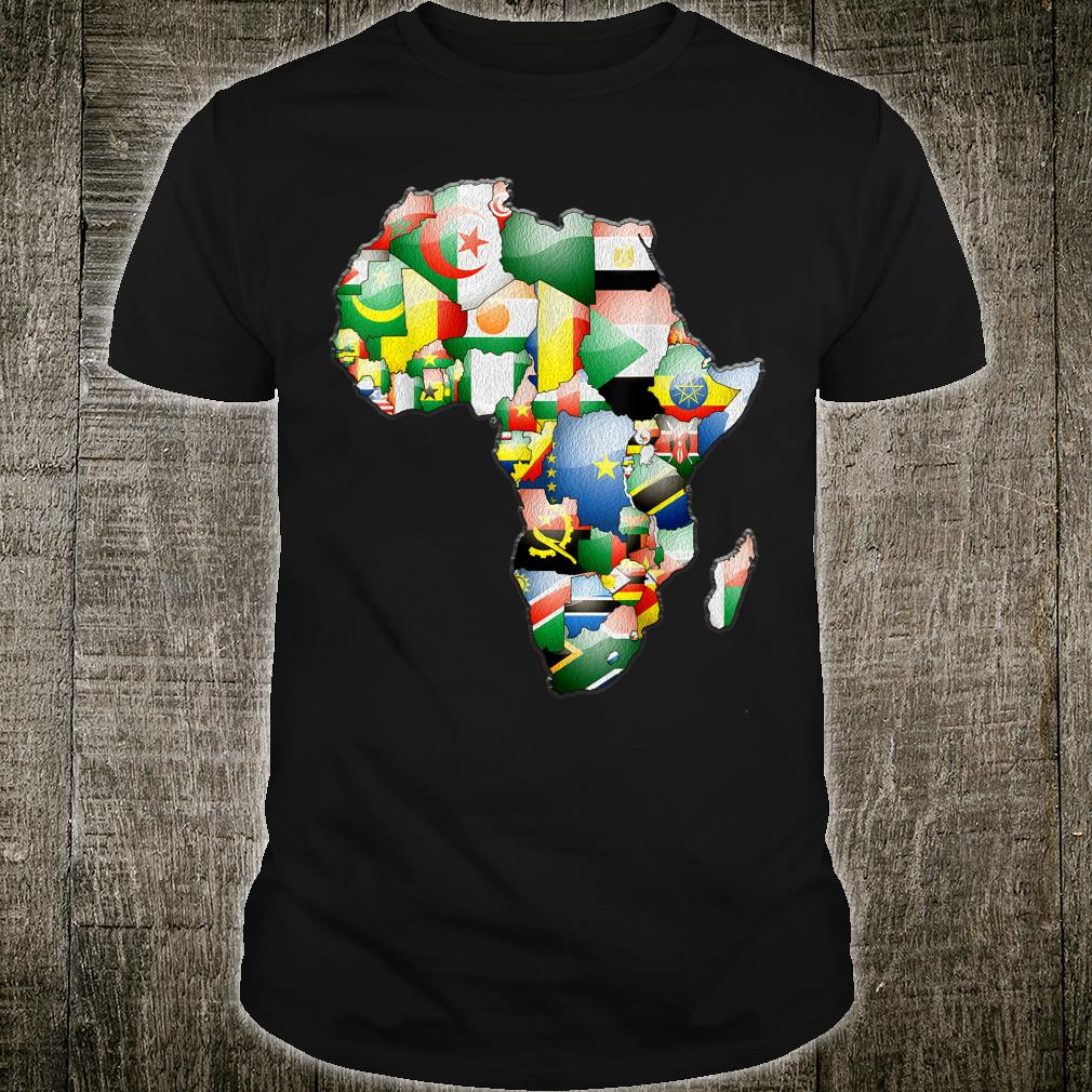 African Flags Black History Month African Heritage Shirt