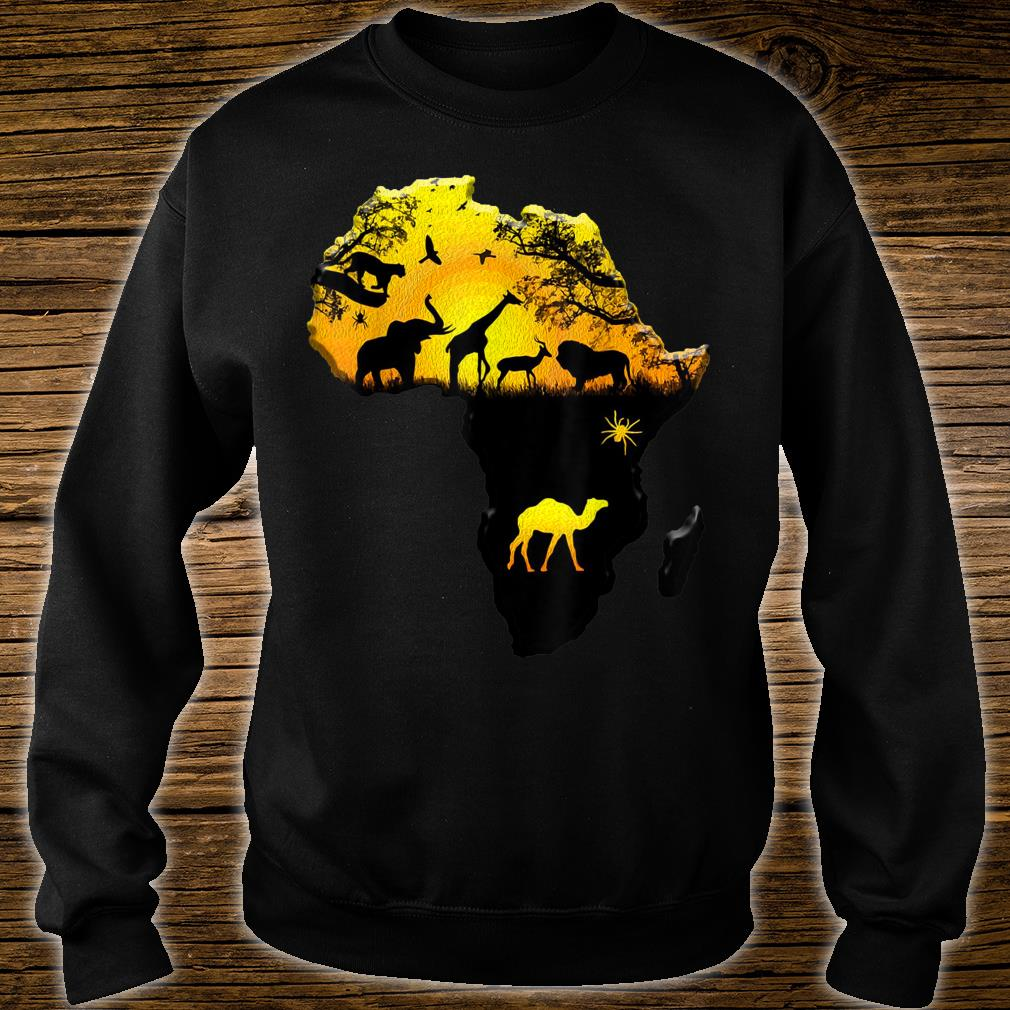African Savannah Animals History Month African Heritage Shirt sweater