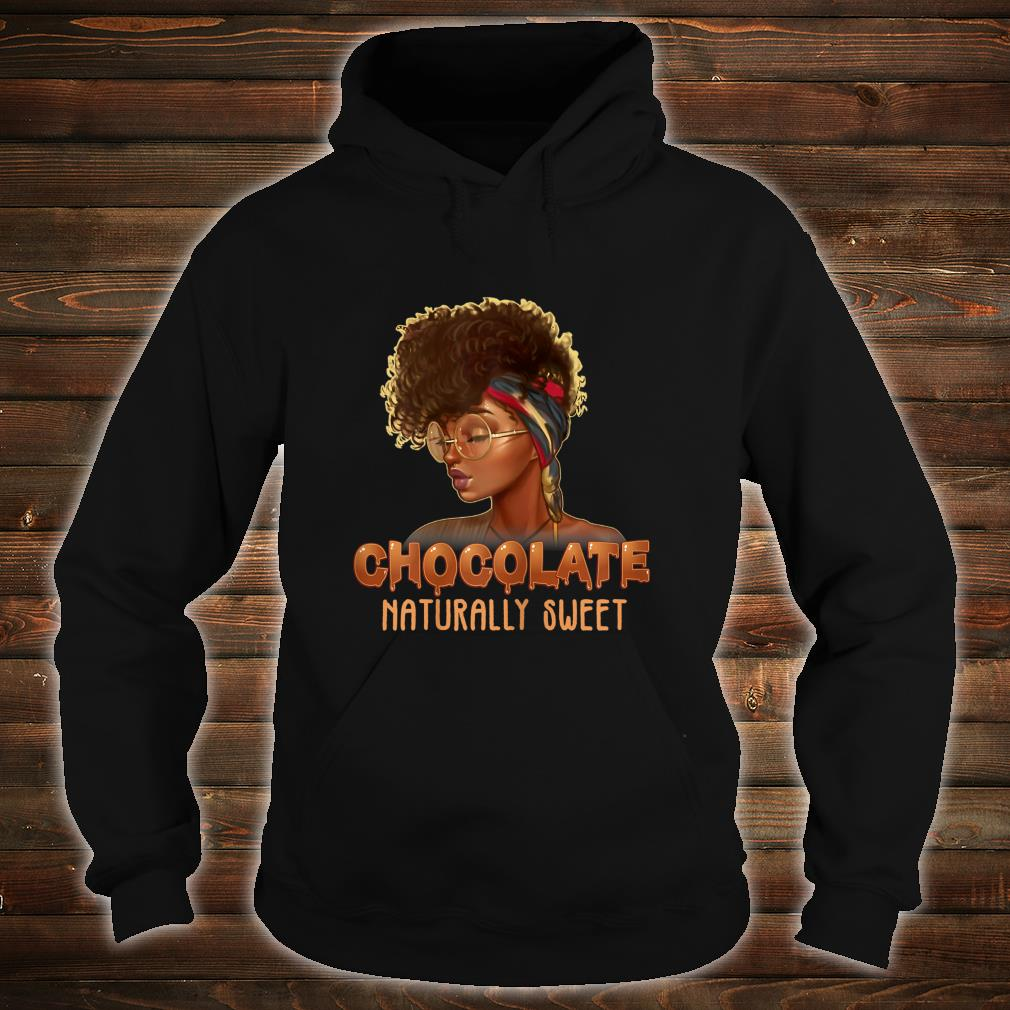 Afro Black Girl With Natural Hair Pride Shirt hoodie