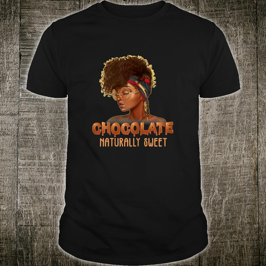 Afro Black Girl With Natural Hair Pride Shirt