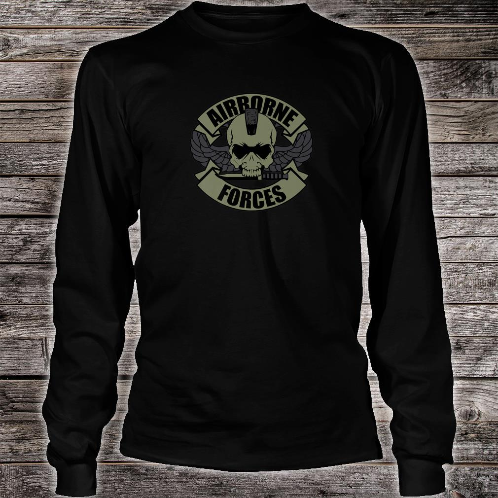 Airborne Forces Shirt long sleeved
