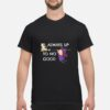 Always Up To No Good Witch and Cat Halloween Shirt