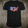 American Flag Basketball USA Shirt