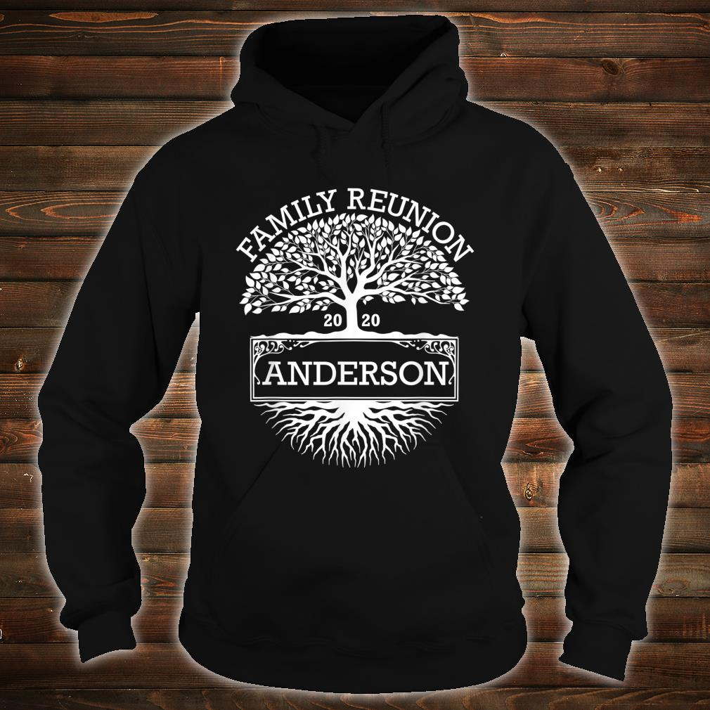 Anderson 2020 Matching Family Reunion Shirt hoodie