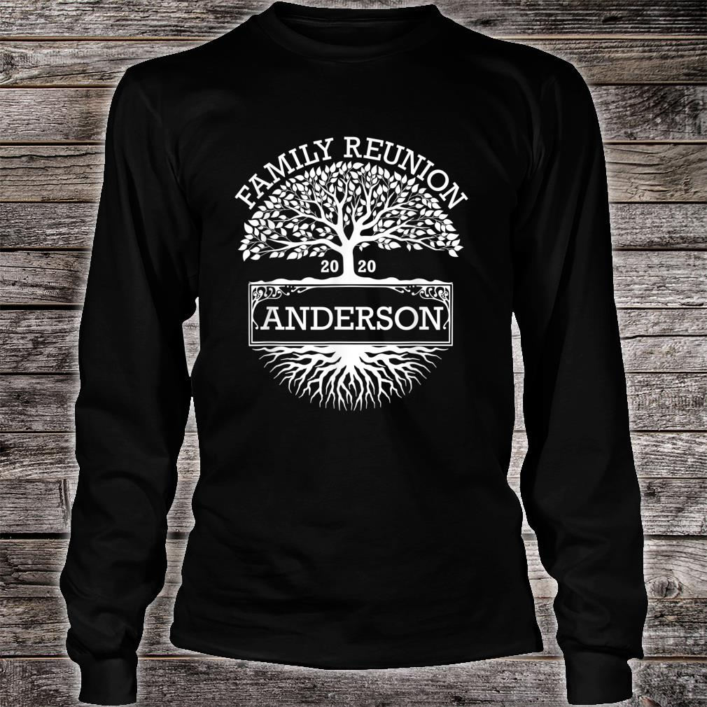 Anderson 2020 Matching Family Reunion Shirt long sleeved