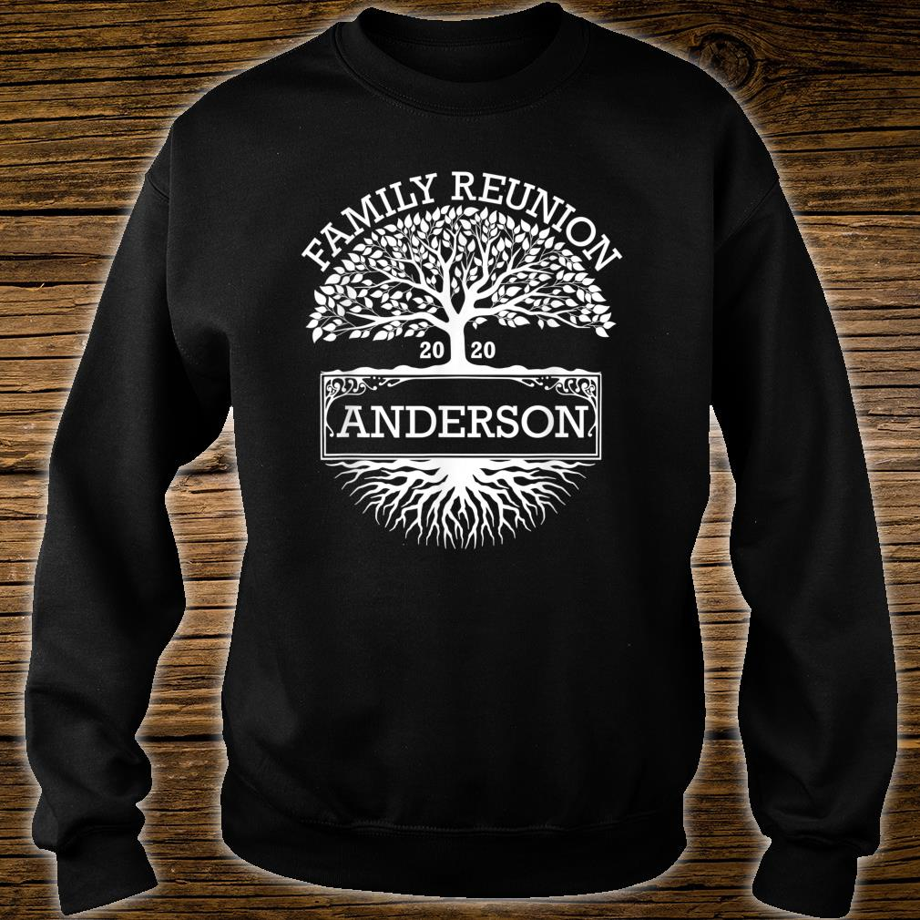 Anderson 2020 Matching Family Reunion Shirt sweater