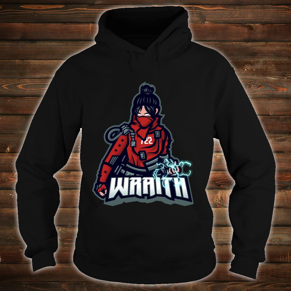 Apex of Legends - Video Gamer Wraith Red Nerdy Shirt hoodie