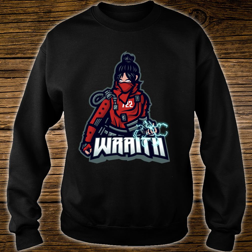 Apex of Legends - Video Gamer Wraith Red Nerdy Shirt sweater