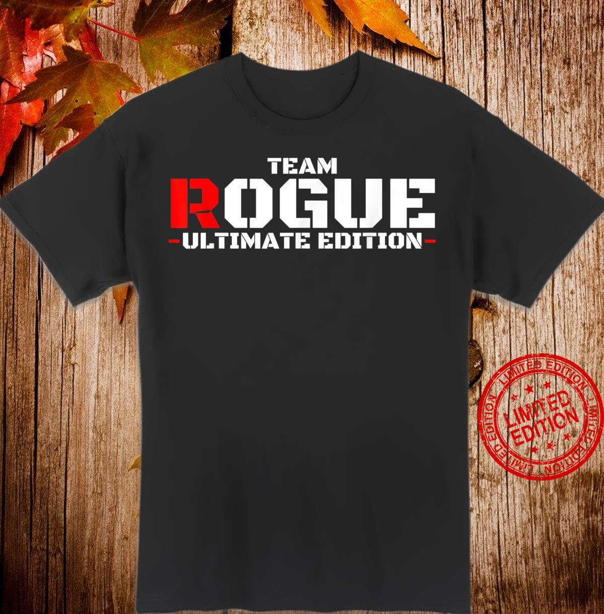 Armed Forces Rogue Warrior Military Army Soldier Tough Guy Shirt