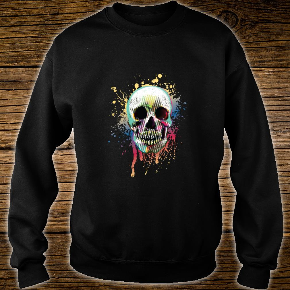 Artistic Skull Shirt sweater