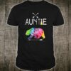 Auntie Bear Tie Dye Matching Family Vacation & Camping Cool Shirt
