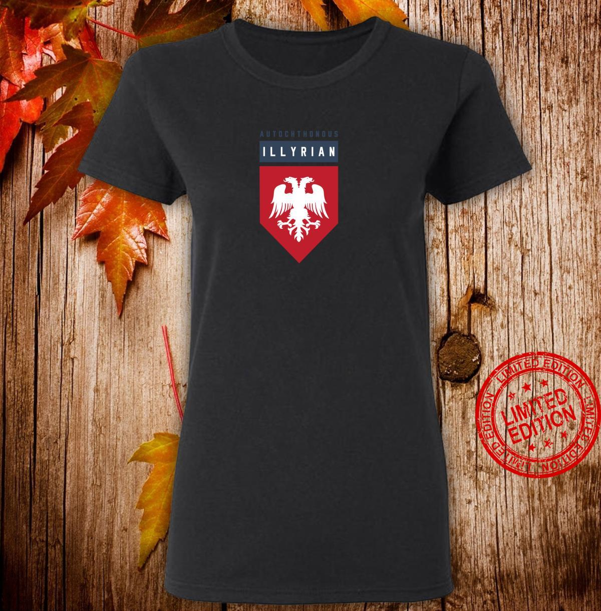 Autochthonous Illyrian Albanian Shirt ladies tee