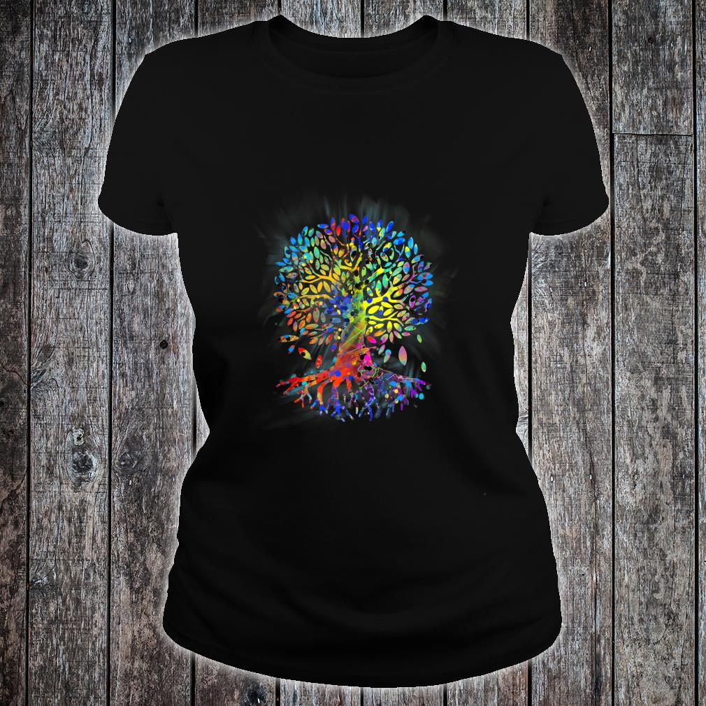 Awesome Tree Of Life Meditation The Tree Of Life Shirt ladies tee