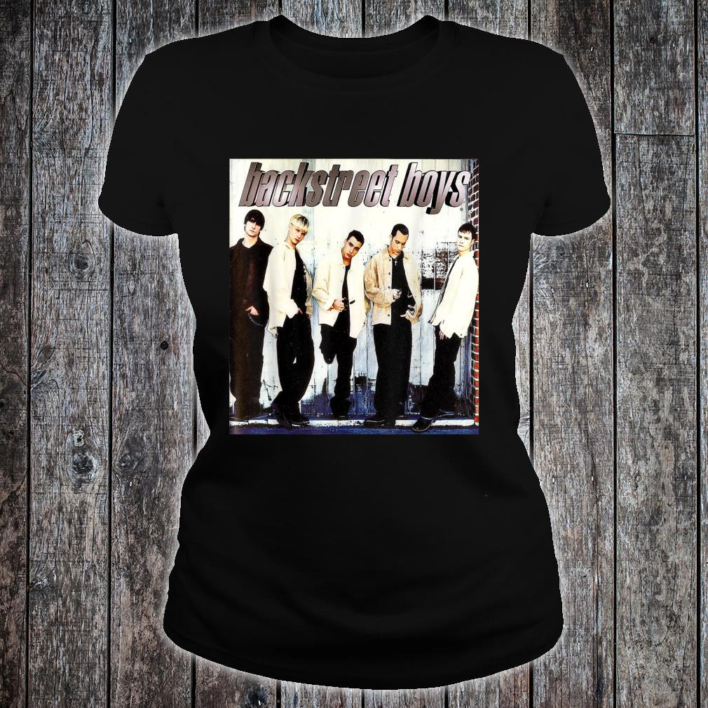 Backstreet Boys Straight Through My Heart Shirt ladies tee