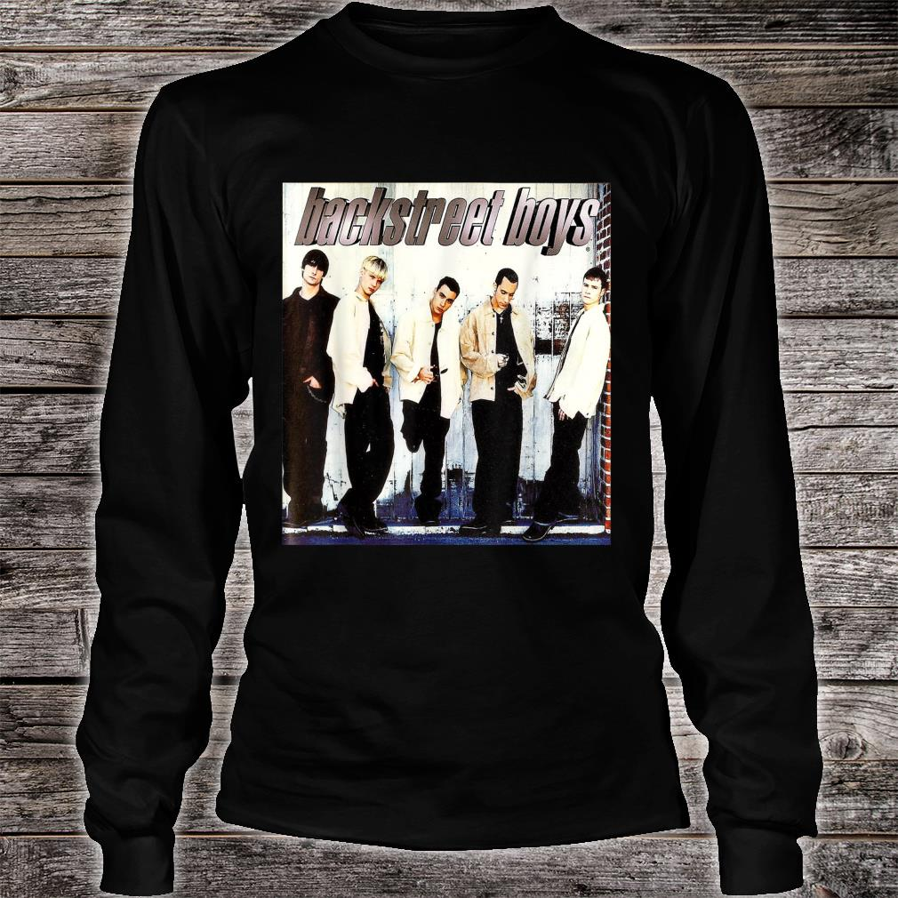 Backstreet Boys Straight Through My Heart Shirt long sleeved