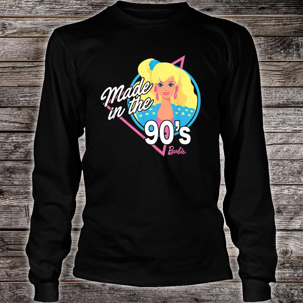 Barbie 60th Anniversary Made in the 90s shirt long sleeved