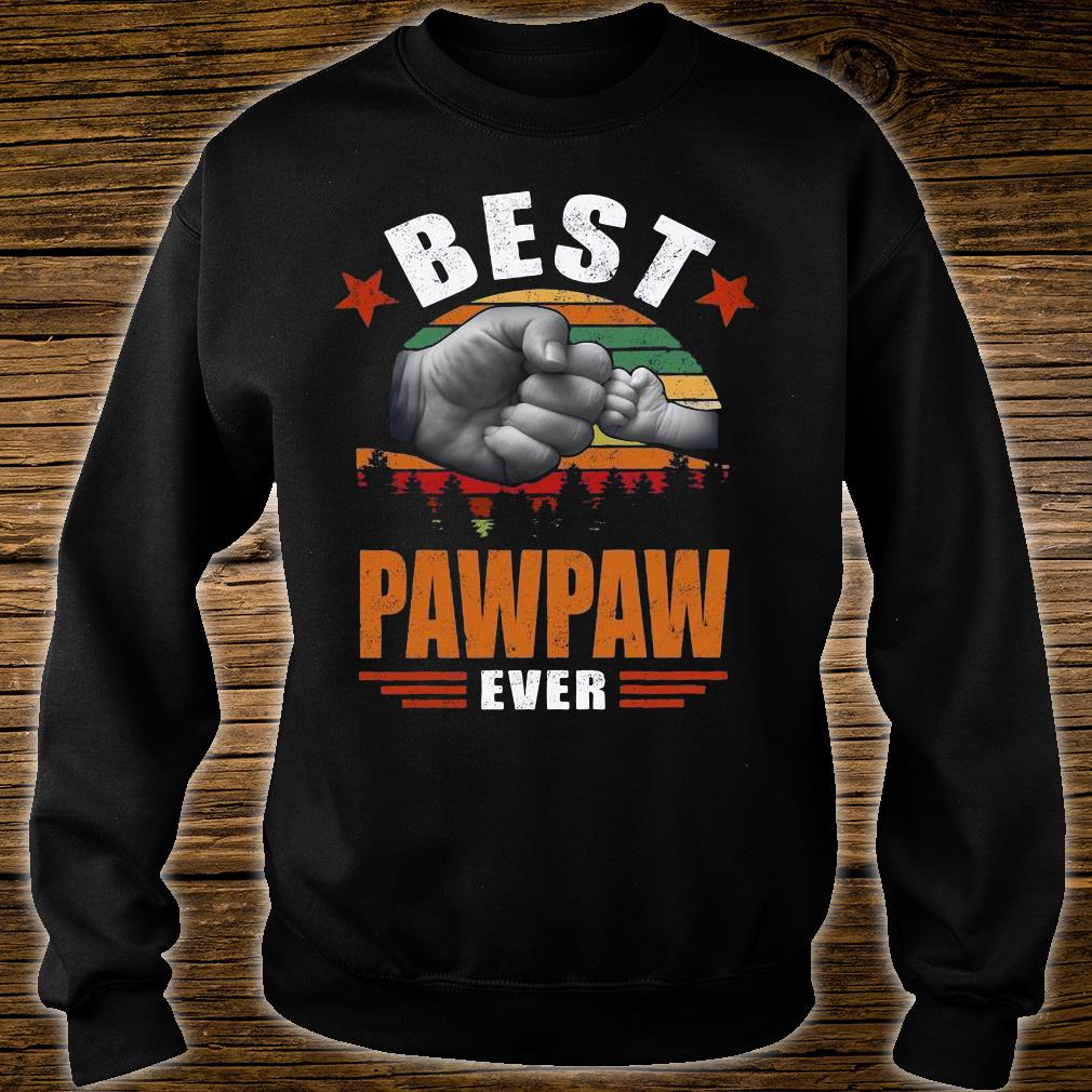 Best Pawpaw Ever Vintage sweater