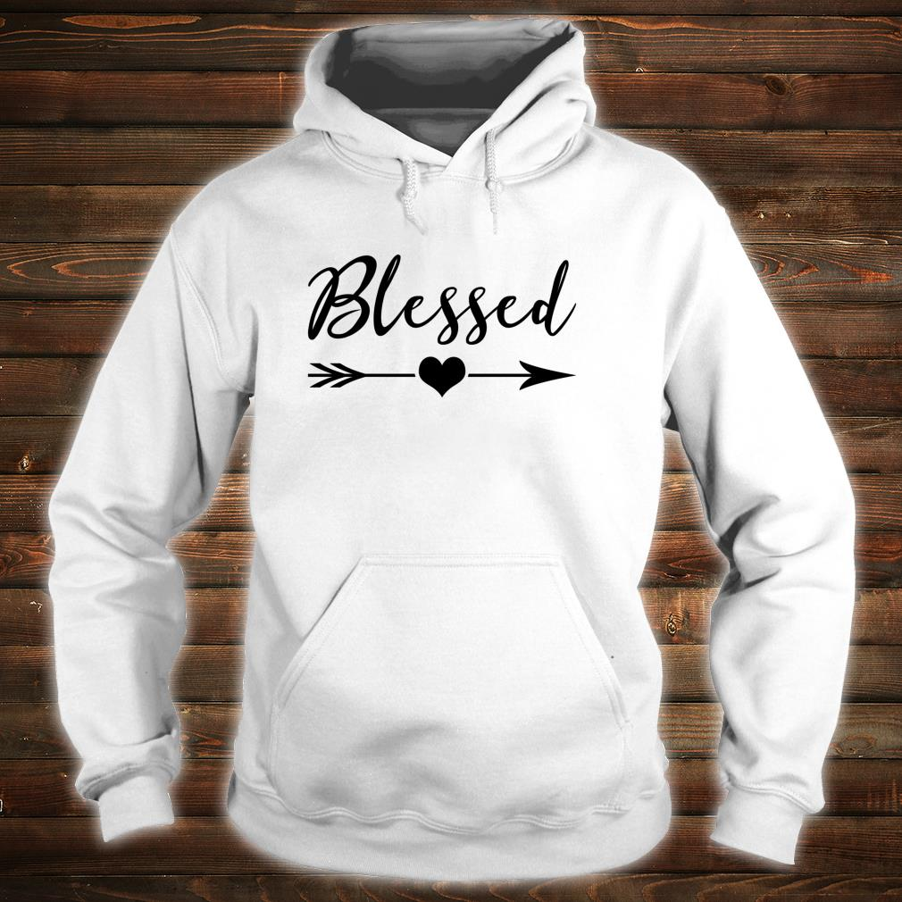 Blessed Sign Thankful Religious Blessed Shirt hoodie