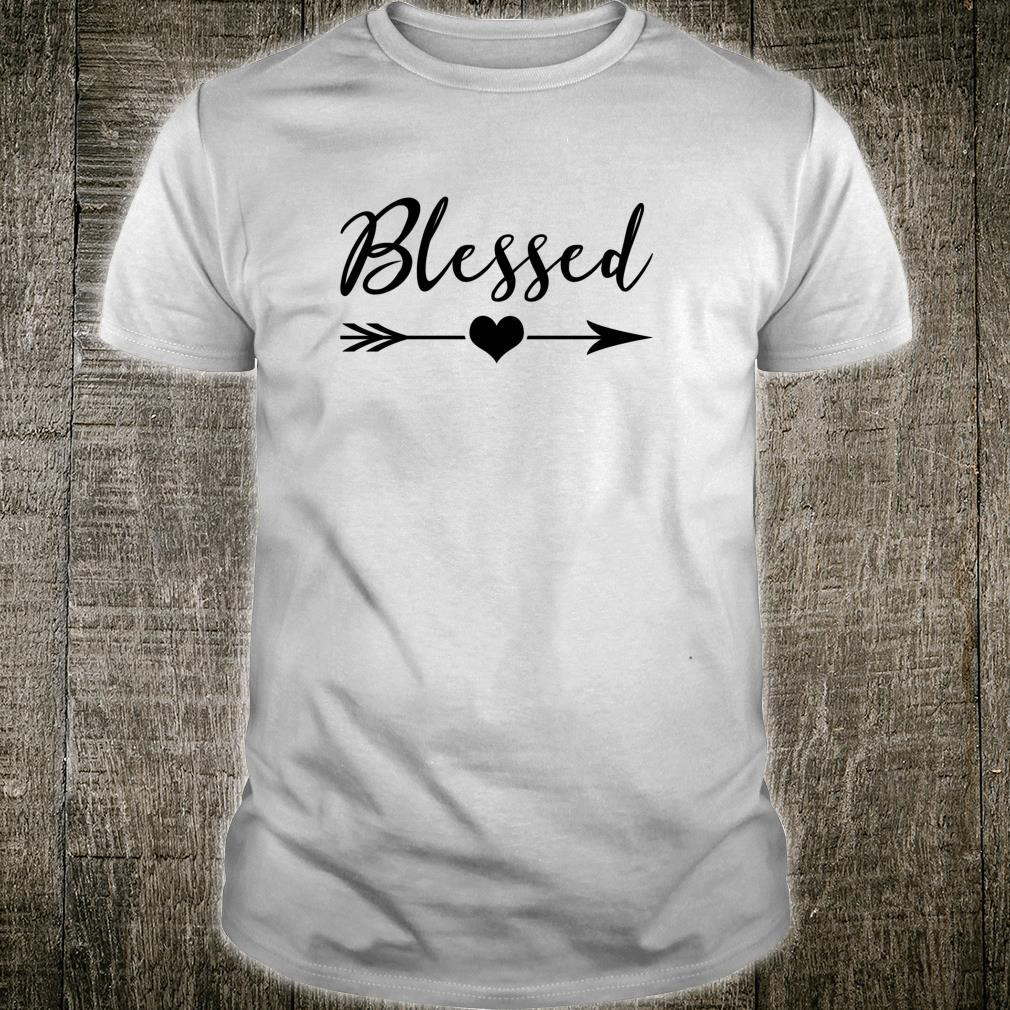 Blessed Sign Thankful Religious Blessed Shirt