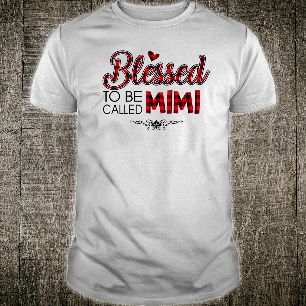 Blessed To Be Called MiMi Caro Christmas Mother Day Shirt