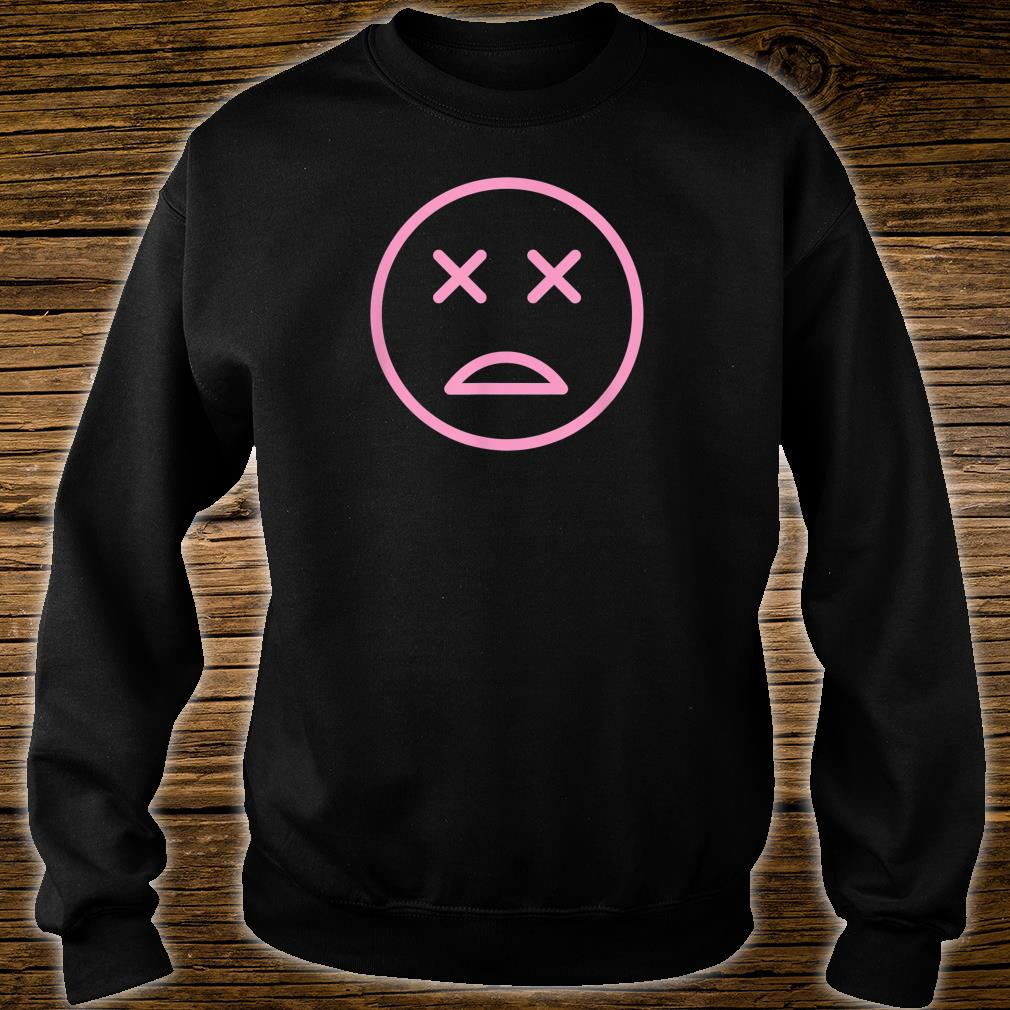 Bold Dead Smiley Face Shirt sweater