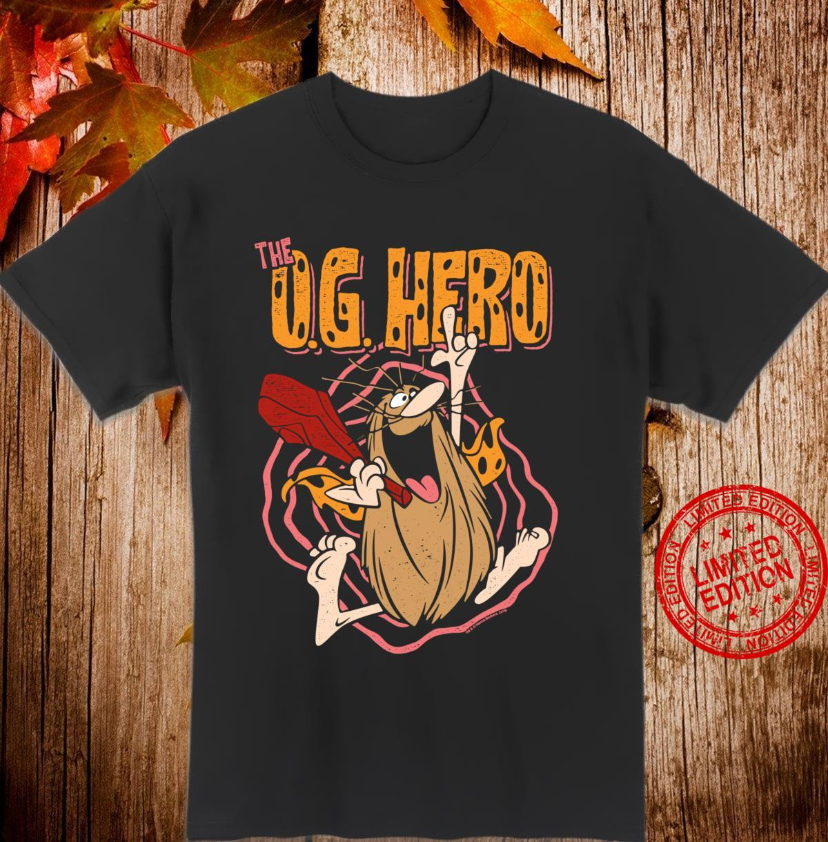 Captain Caveman OG Hero Shirt