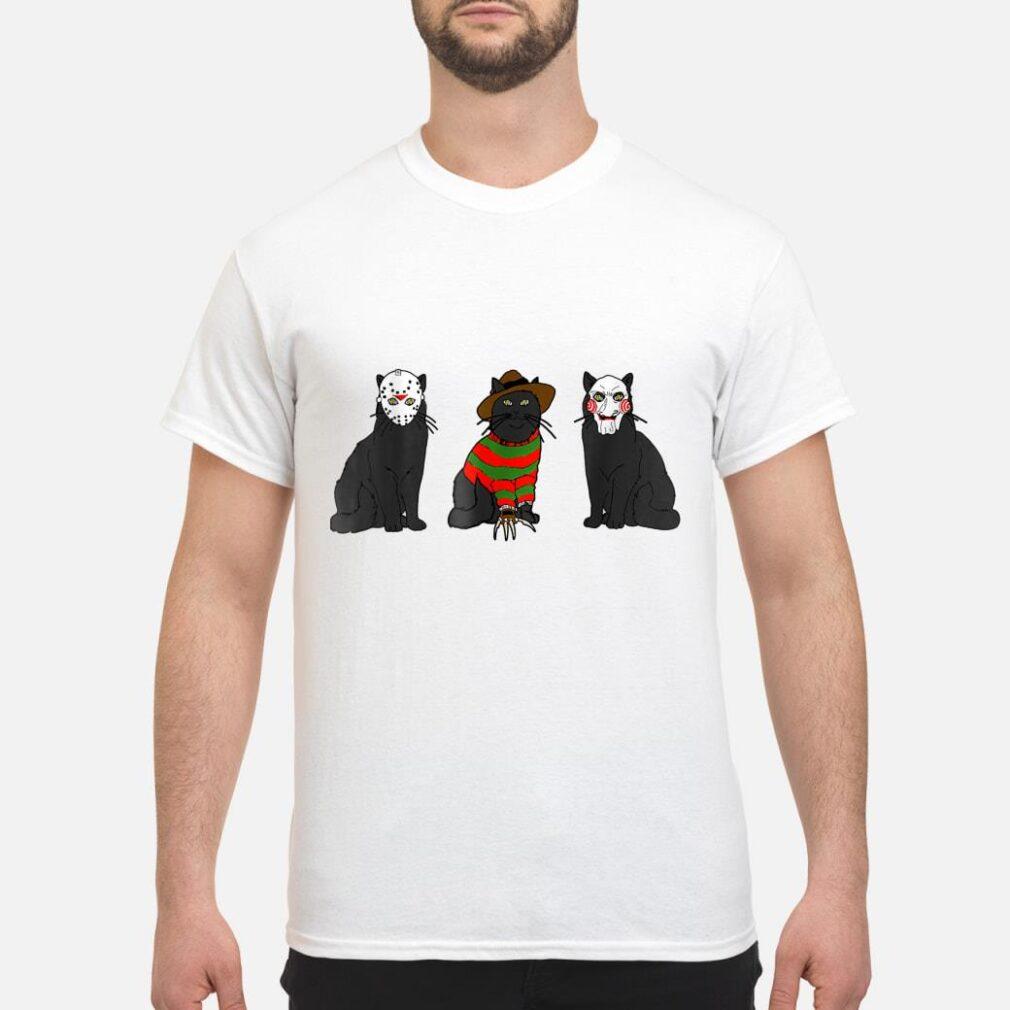 Cat Shirt Parody Horror Movie Shirt