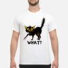 Cat What Black Cat Costume Murderous Cat With Knife Shirt