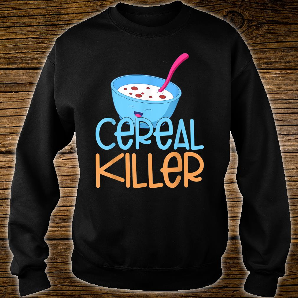 Cereal Killer Healthy Food Cereals Marshmallows Happy Face Shirt sweater