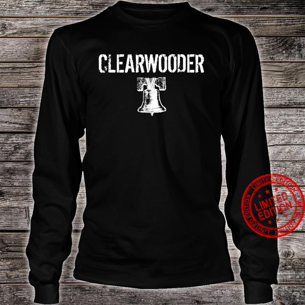 Clearwooder Clearwater Philly Baseball shirt Shirt long sleeved