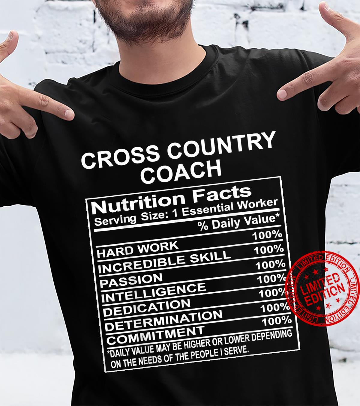 Cross Country Coach Appreciation Shirt