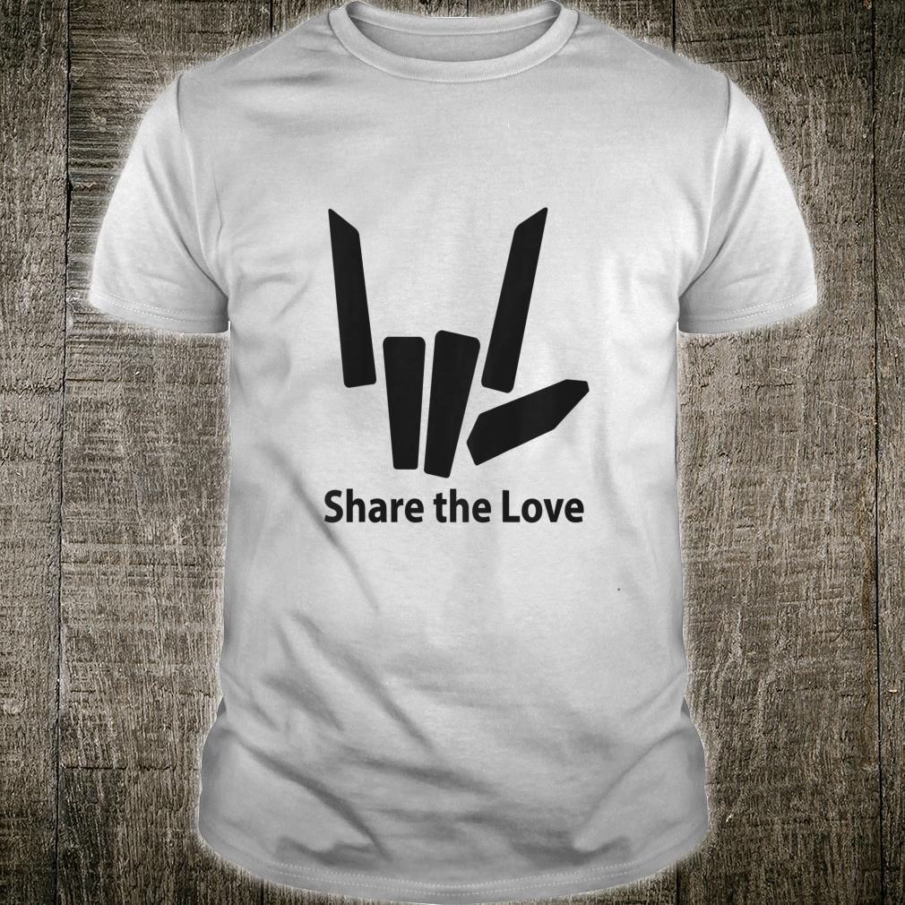 Cute Fingers share the love for Kids shirt