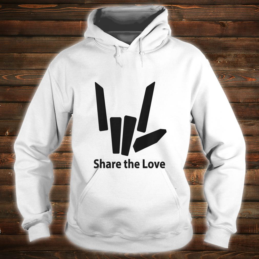 Cute Fingers share the love for Kids shirt hoodie