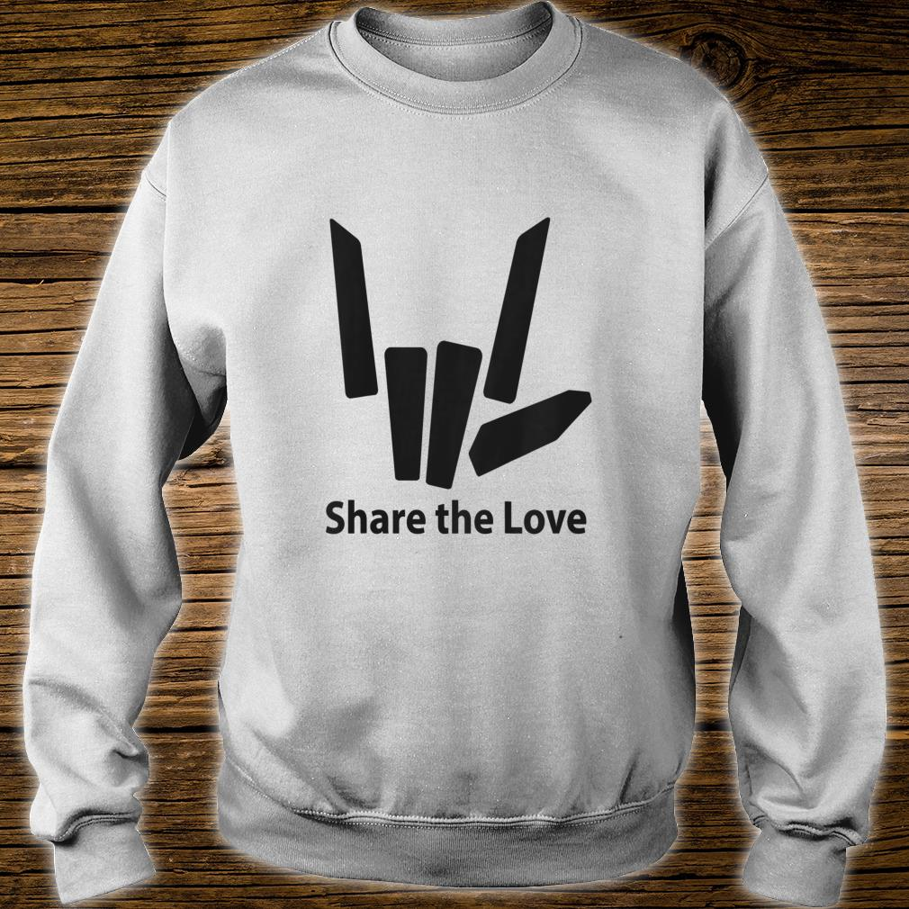 Cute Fingers share the love for Kids shirt sweater