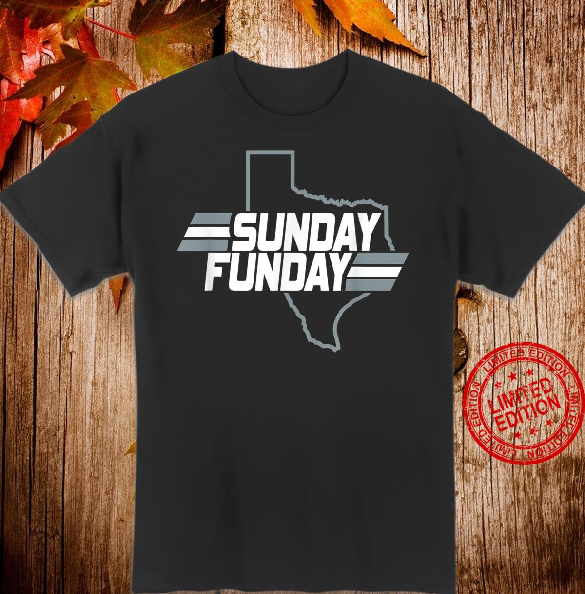 Dallas Texas Vintage Varsity Sunday Football Shirt