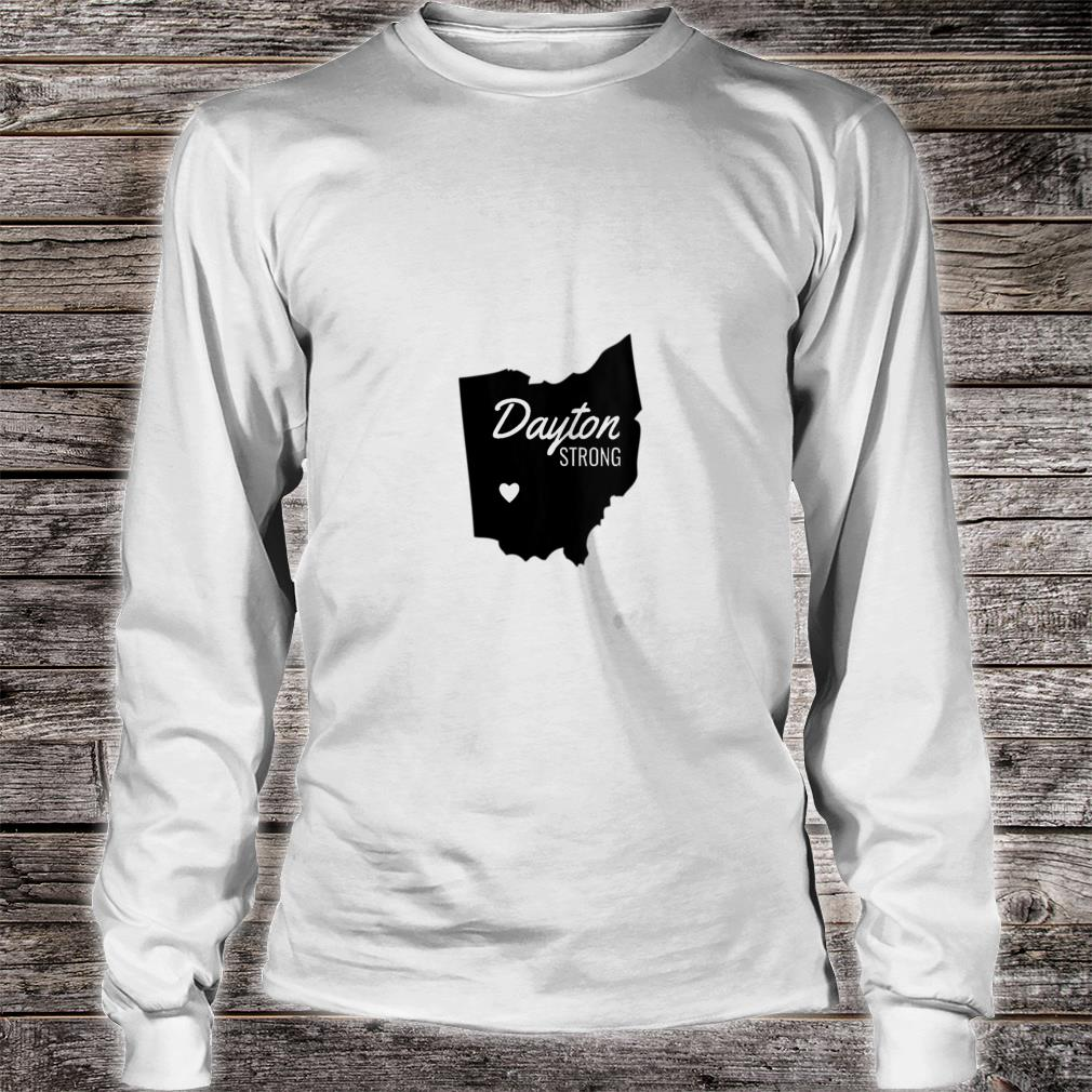 Dayton Strong Ohio Remembrance V-Neck Shirt long sleeved