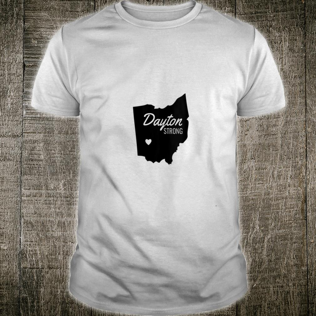 Dayton Strong Ohio Remembrance V-Neck Shirt