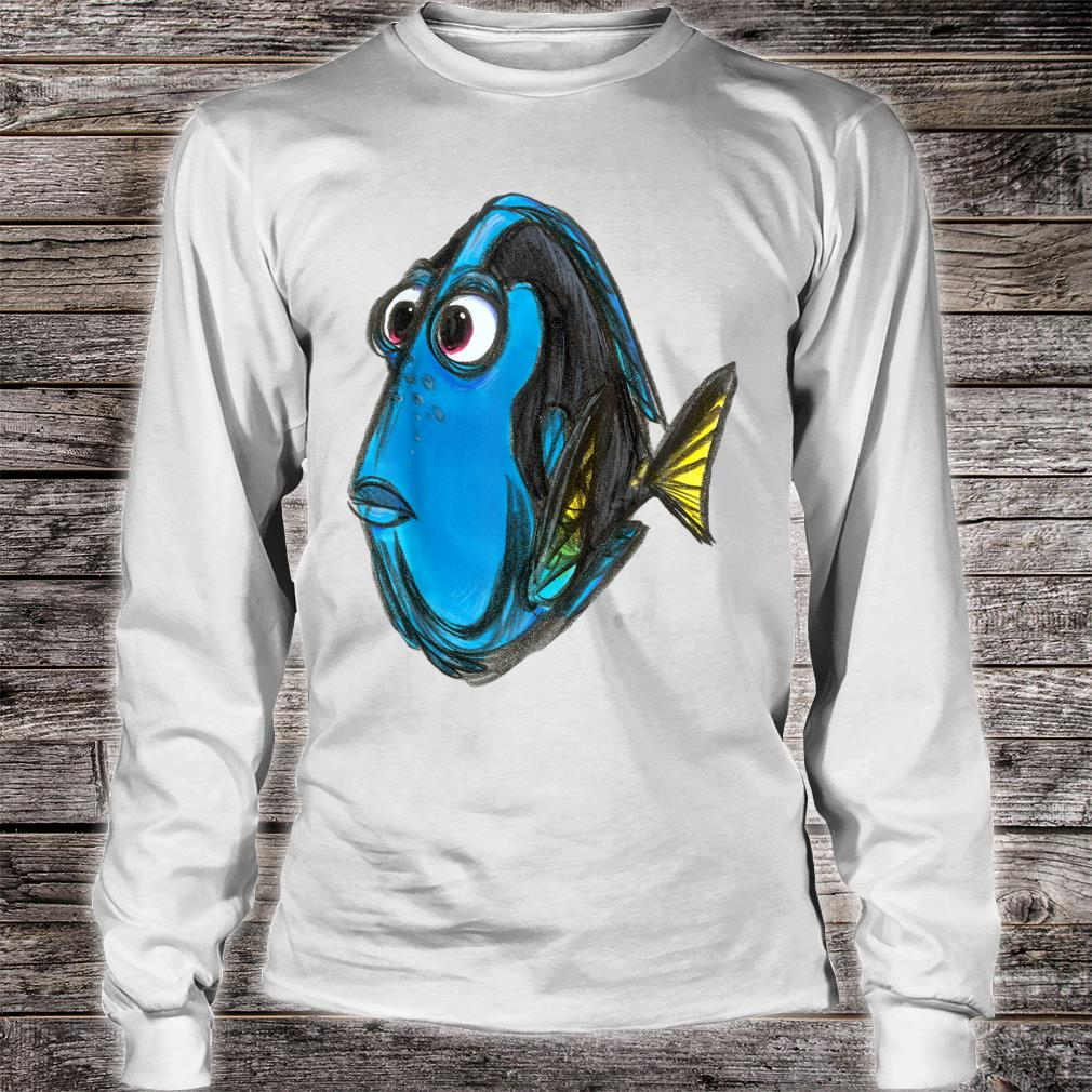 Disney Pixar Finding Nemo Dory Color Shirt long sleeved