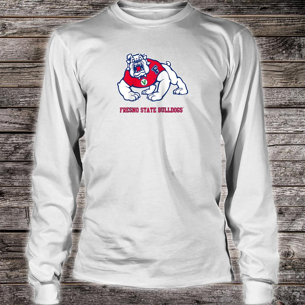 Fresno State College Bulldogs NCAA PPFRS04 Shirt long sleeved