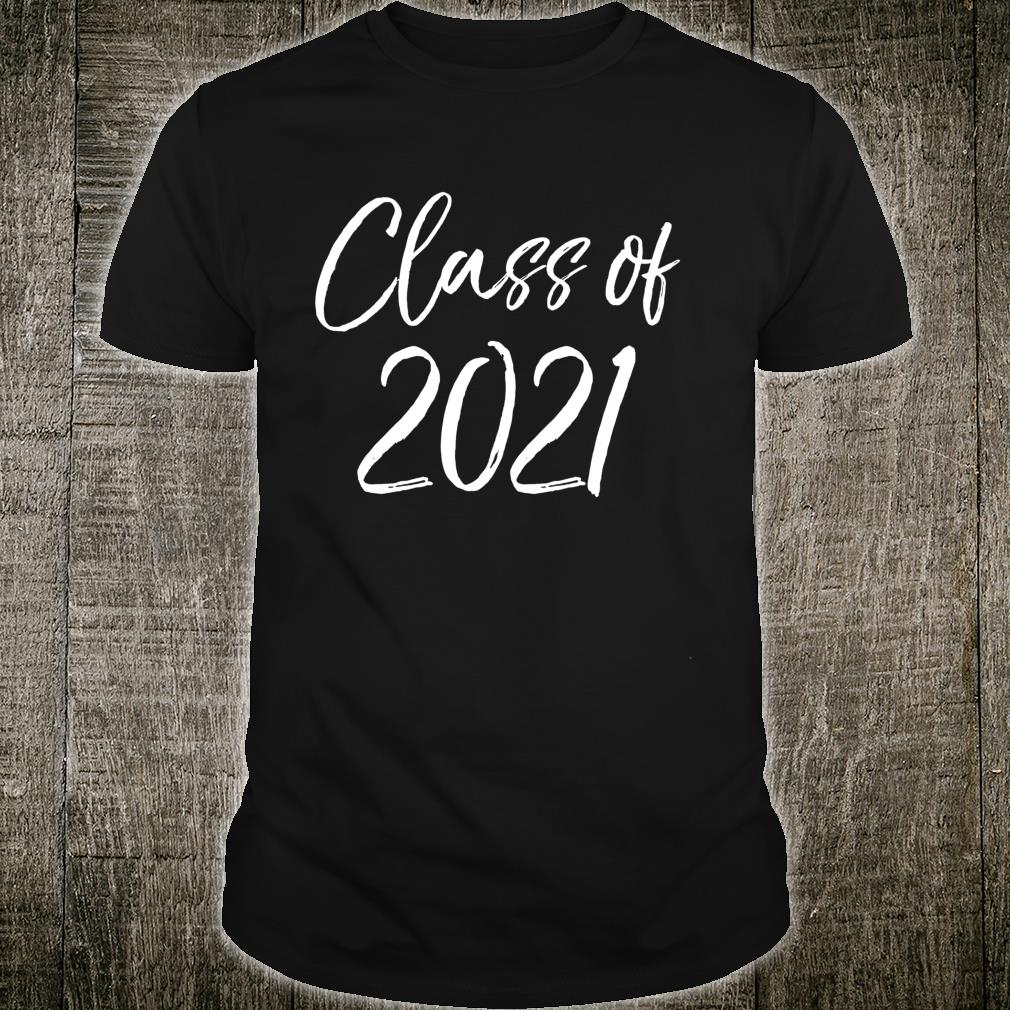 Fun Matching High School Class of Cute Class of 2021 Shirt