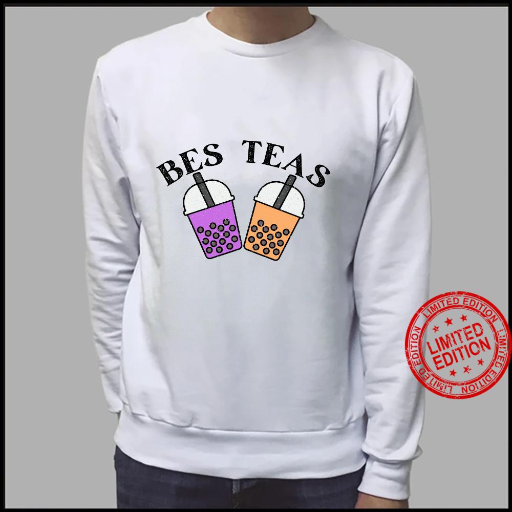 Funny Bes Teas sounds besties Cute Boba and Taro Best Friend Shirt sweater
