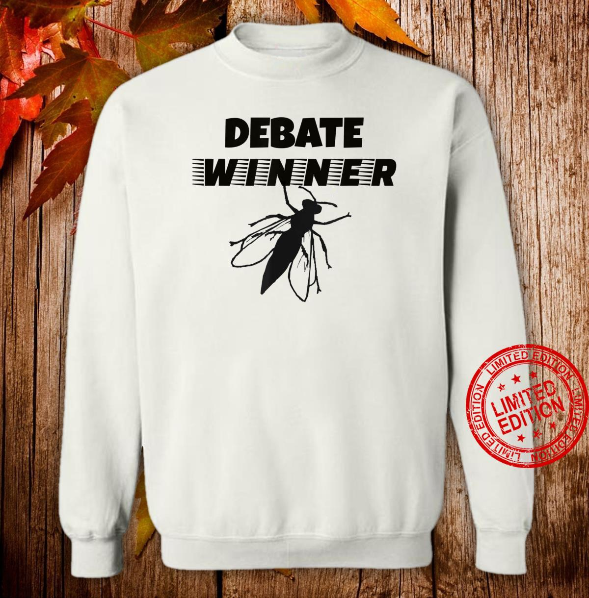 Funny Debate Winner The Fly Political Costume Shirt sweater