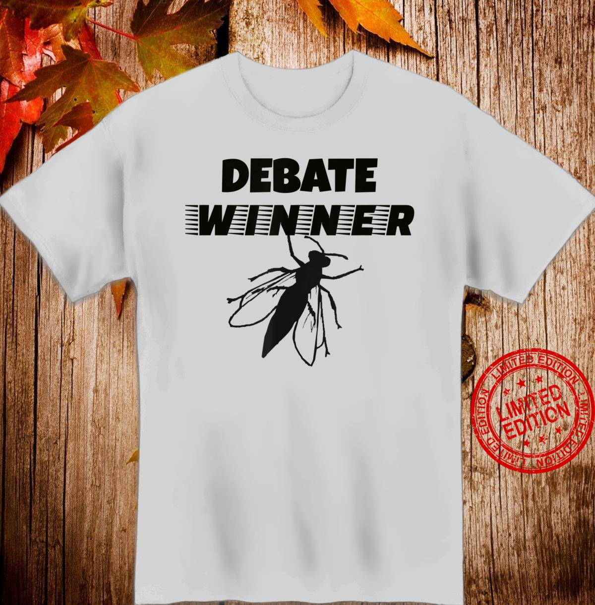 Funny Debate Winner The Fly Political Costume Shirt