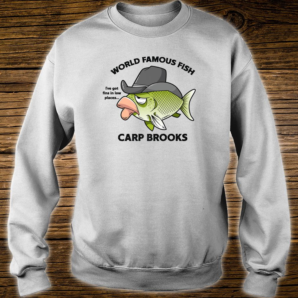 Funny Famous Cartoon Fish Carp Brooks Country Music Shirt sweater
