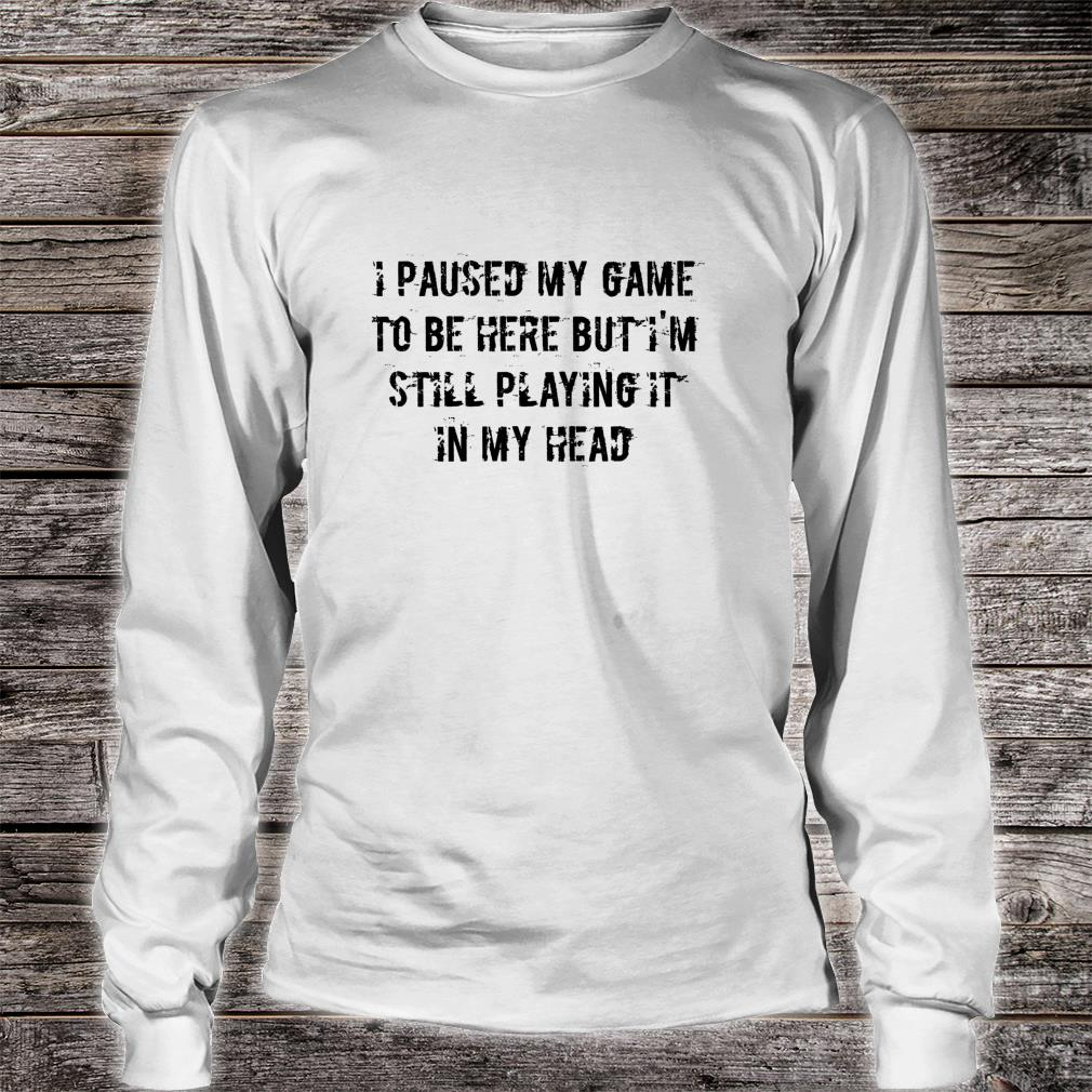 Funny Gamer Shirt long sleeved